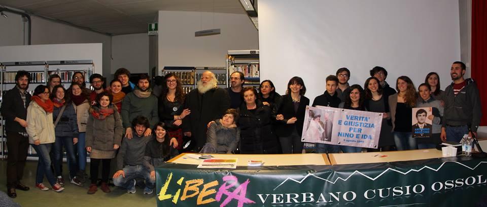 Il coordinamento di Libera VCO con la famiglia Agostino